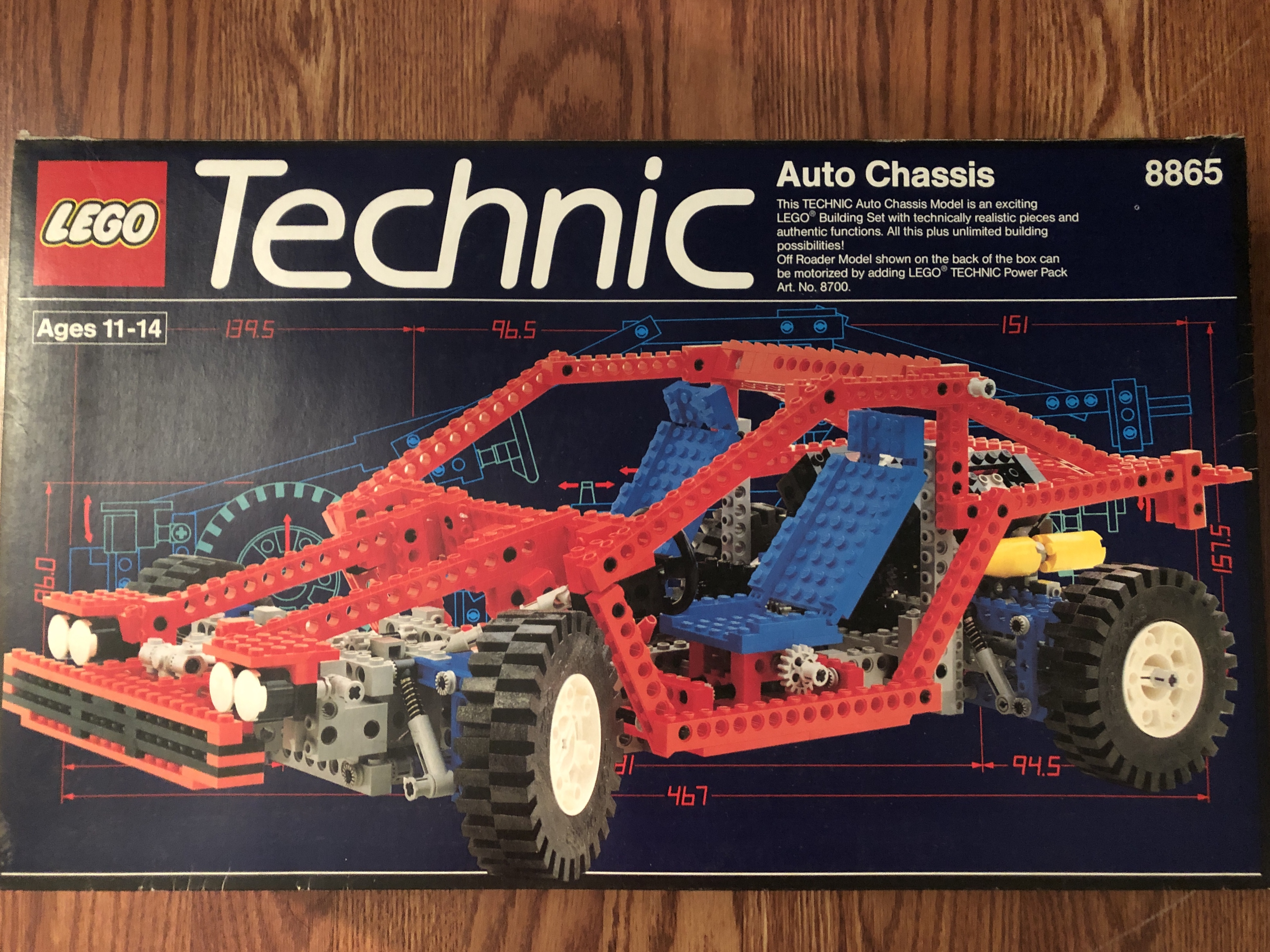 Auto Chassis 8865